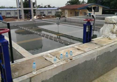 Newly Completed Kenema Water Treatment Plant