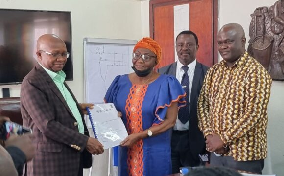 Minister of Water Resources Chairs Water Meter Contract Signing Ceremony